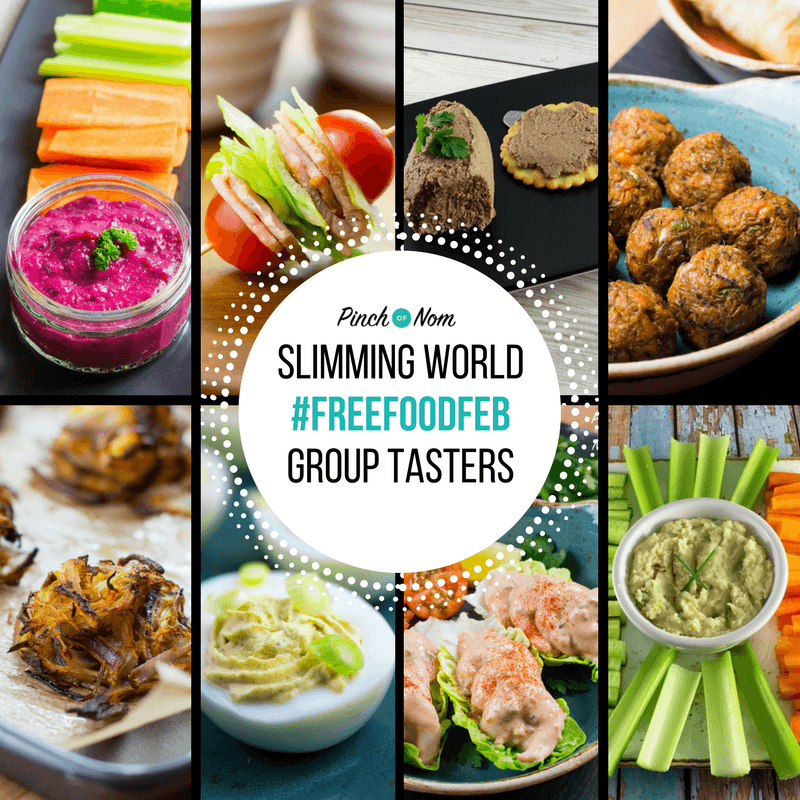 Slimming World Syn Free Group Tasters Freefoodfeb Pinch