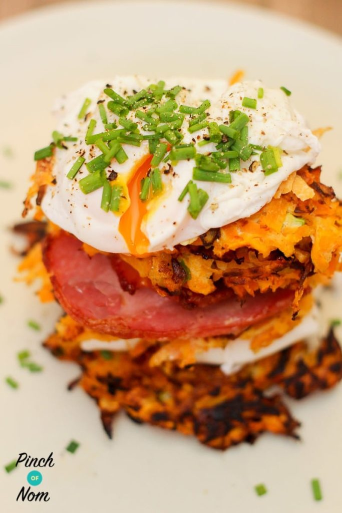 Syn Free Sweet Potato and Carrot Rostis
