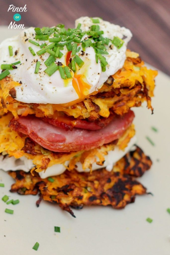 Sweet Potato and Carrot Rostis | Slimming & Weight Watchers Friendly