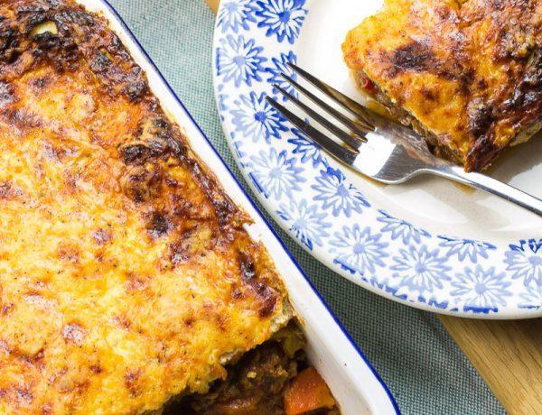 syn free butternut squash lasagne