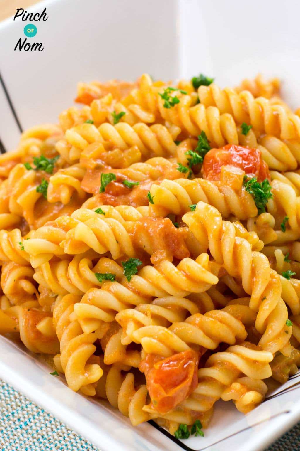Creamy Tomato Vodka Pasta | Slimming & Weight Watchers Friendly