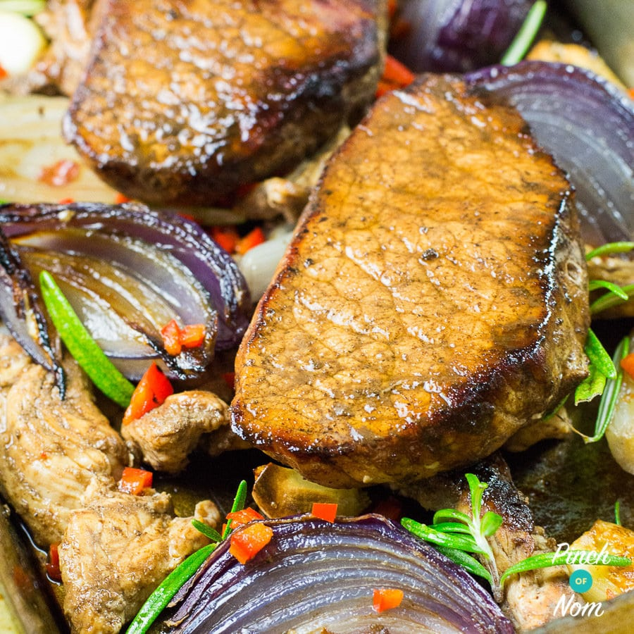 Syn Free Balsamic Glazed Pork | Slimming World