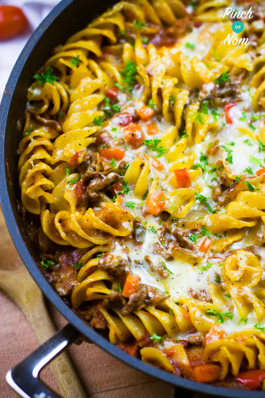 Pasta Bolognese Bake | Slimming & Weight Watchers Friendly