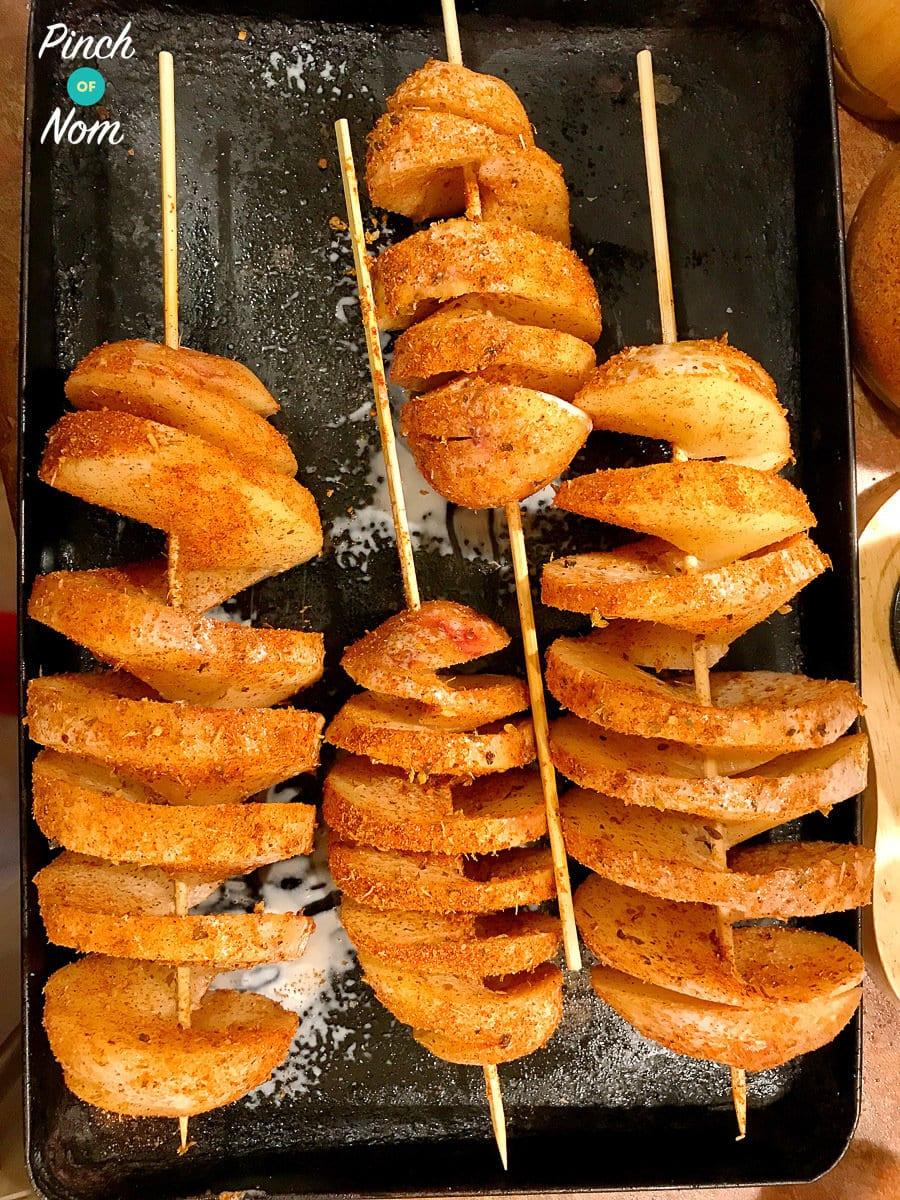 Potato Twisters | Slimming & Weight Watchers Friendly