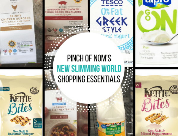 New Slimming World Shopping Essentials - 10/3/17
