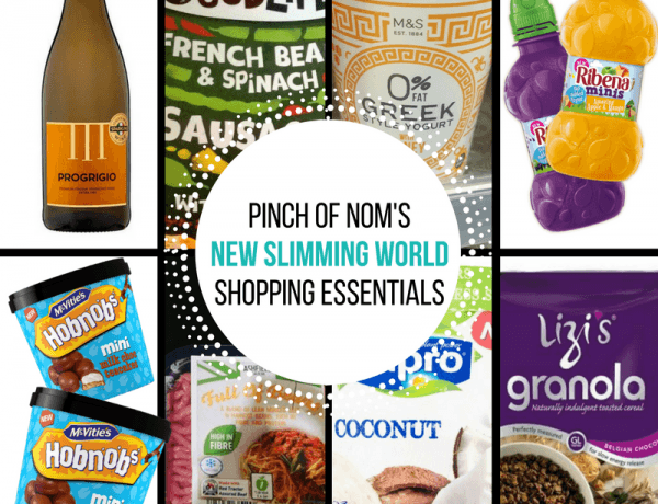 New Slimming World Shopping Essentials - 17/3/17