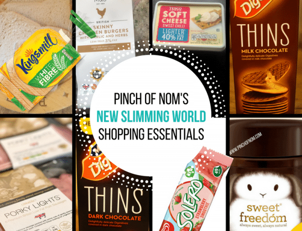 New Slimming World Shopping Essentials - 24/2/17