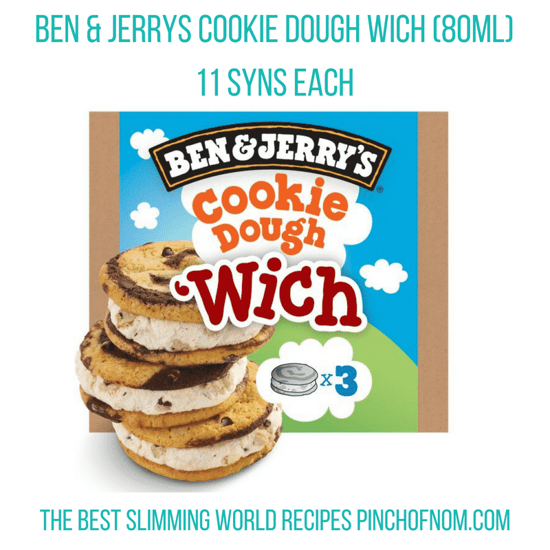 ben and jerries son of a which-New Slimming World Shopping Essentials - pinchofnom.com - March