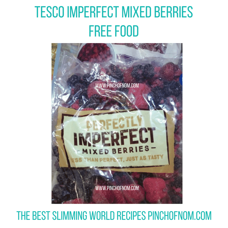 tesco imperfect berries- New Slimming World Shopping Essentials - pinchofnom.com - March