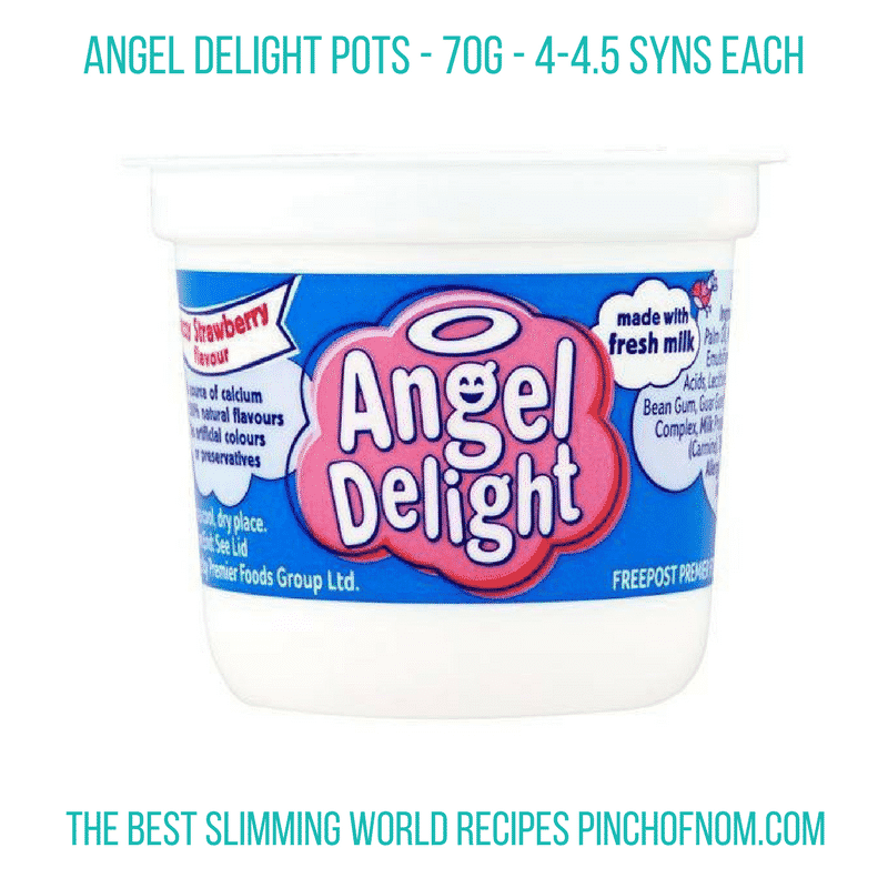 Angel Delight Pots -New Slimming World Shopping Essentials - pinchofnom.com - March