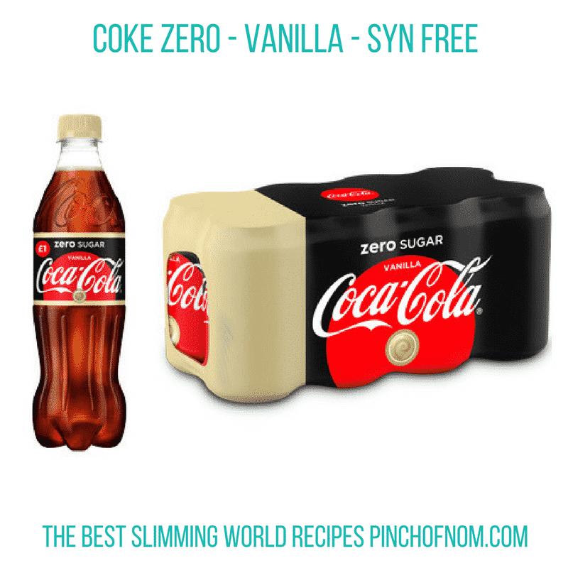 coke-zero-vanilla-New Slimming World Shopping Essentials - 17:3:17