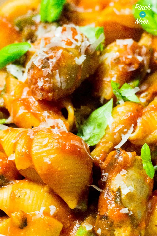 Spicy Sausage Pasta | Slimming & Weight Watchers Friendly