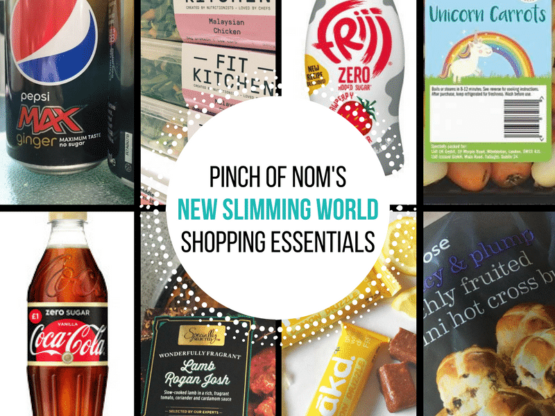 New Slimming World Shopping Essentials - 17:3:17