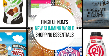 New Slimming World Shopping Essentials - pinchofnom.com - March