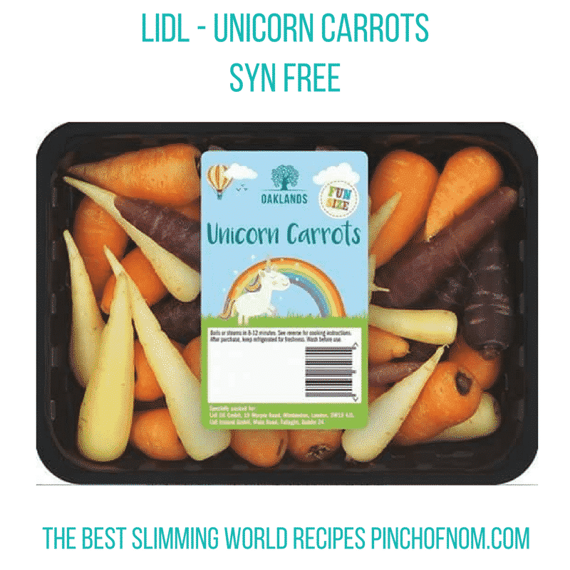 lidl-unicorn-carrots-New Slimming World Shopping Essentials - 17:3:17