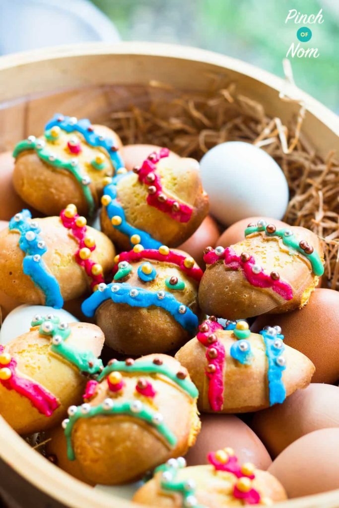 Marzipan Easter Eggs   Slimming & Weight Watchers Friendly