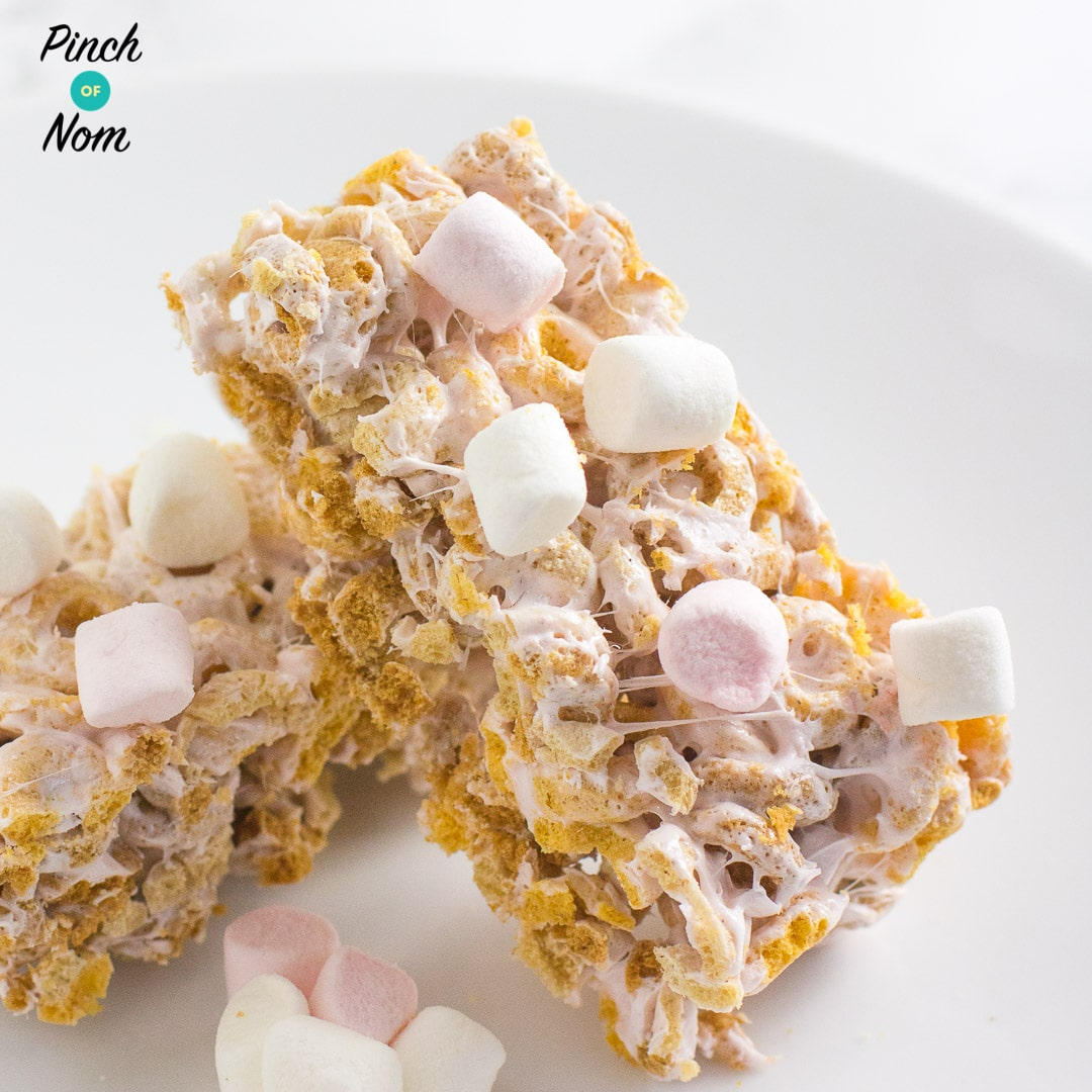 low syn marshmallow bars | Slimming World