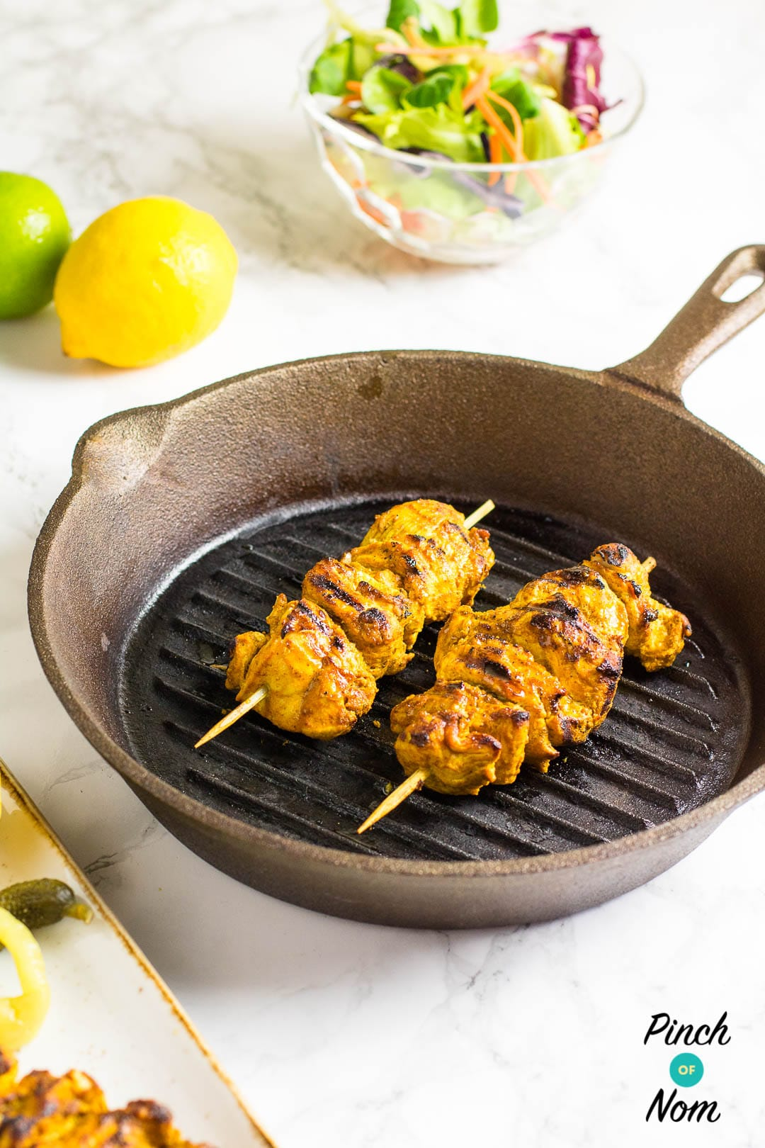 Syn Free Chicken Tikka Kebabs | Slimming World