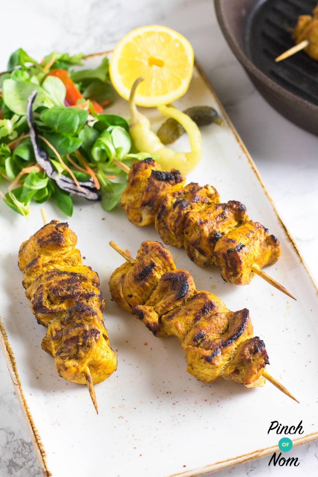 Chicken Tikka Kebabs | Slimming & Weight Watchers Friendly