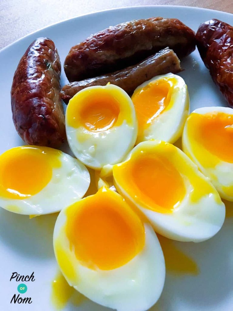 Top 6 Slimming World Breakfast Ideas - syn free soft boiled eggs