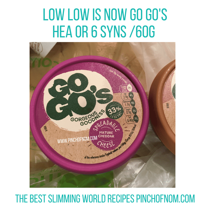 go go's lo-lo cheese - New Slimming World Shopping Essentials - pinchofnom.com - April