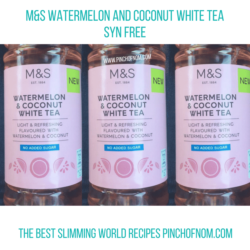 marks and spencer white tea - New Slimming World Shopping Essentials - pinchofnom.com - April
