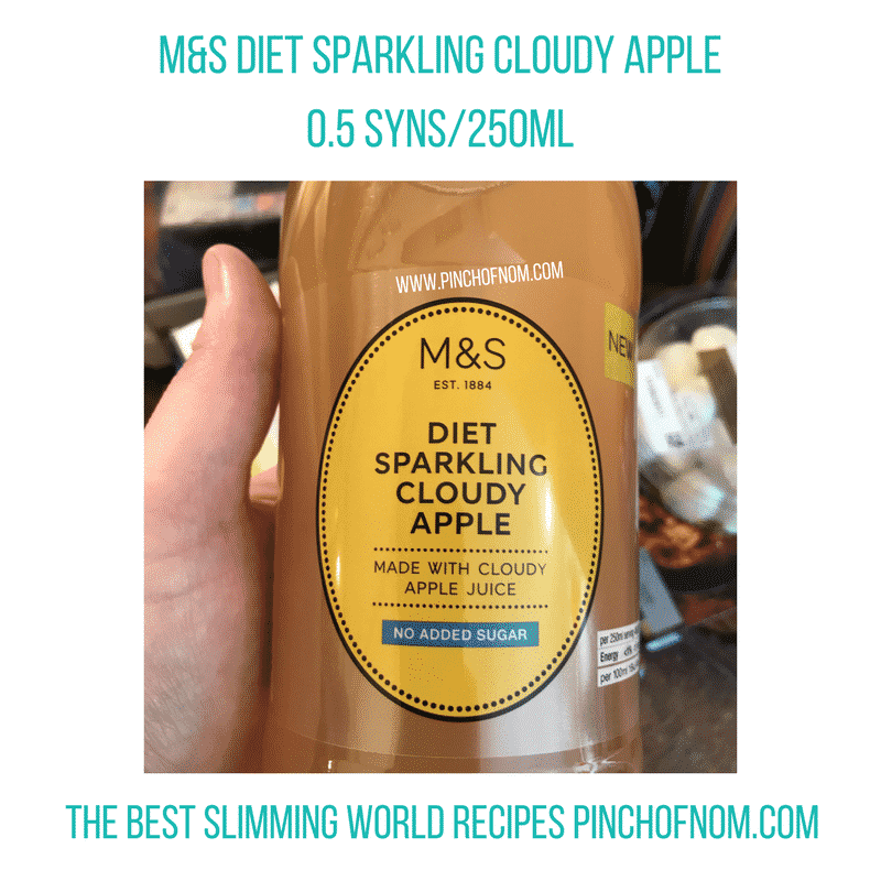 marks and spencer cloudy apple - New Slimming World Shopping Essentials - pinchofnom.com - April
