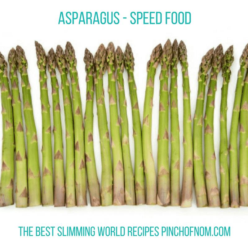 asparagus - New Slimming World Shopping Essentials - pinchofnom.com - April