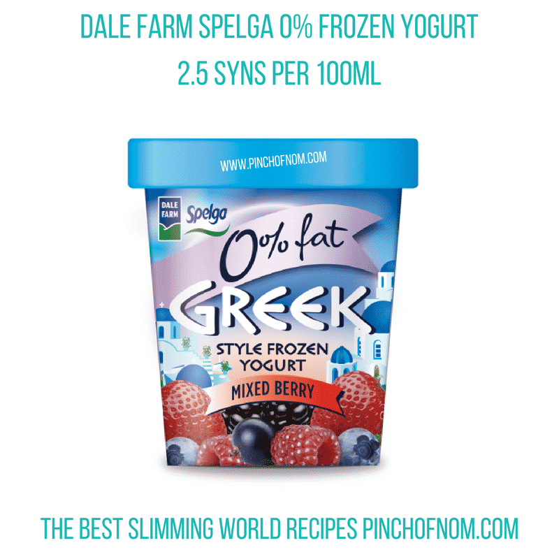 spelga frozen yogurts - New Slimming World Shopping Essentials - pinchofnom.com - April