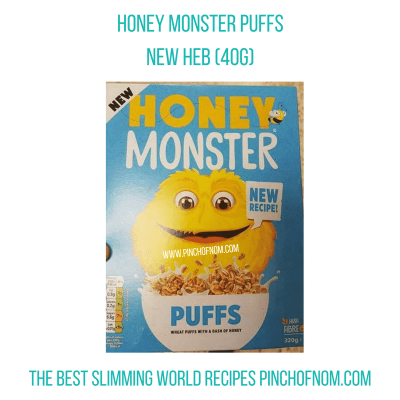 honey monster - New Slimming World Shopping Essentials - pinchofnom.com - April