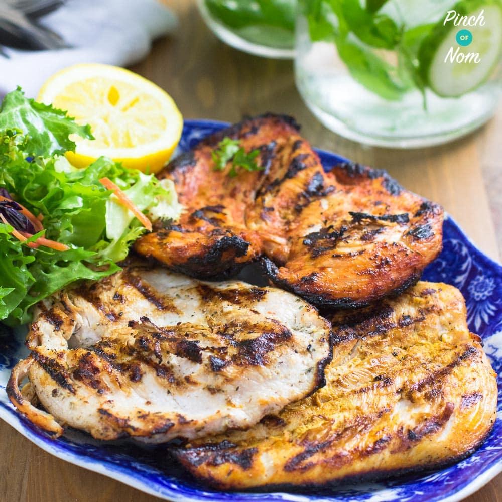 Syn Free BBQ Chicken Steaks   Slimming World featured