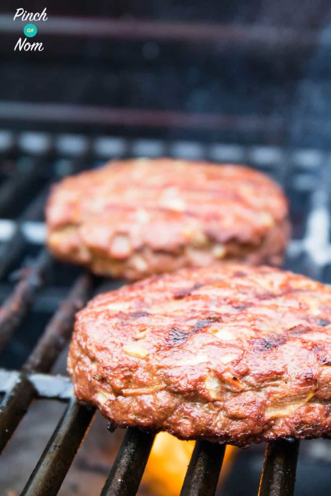 Cheese Stuffed Burgers | Slimming & Weight Watchers Friendly