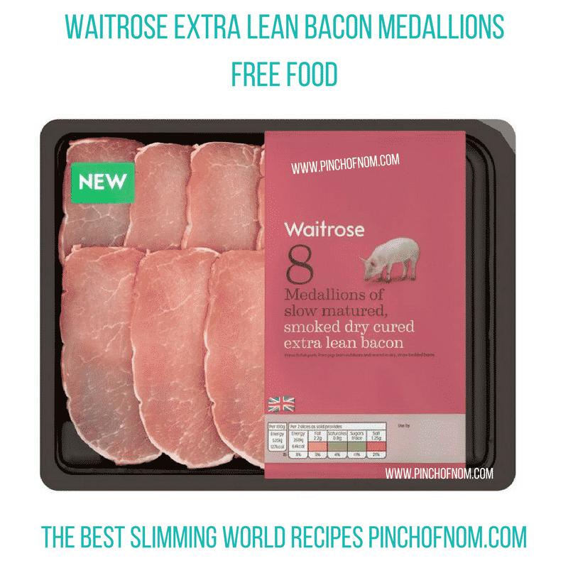 bacon medallions - pinch of nom slimming world essentials