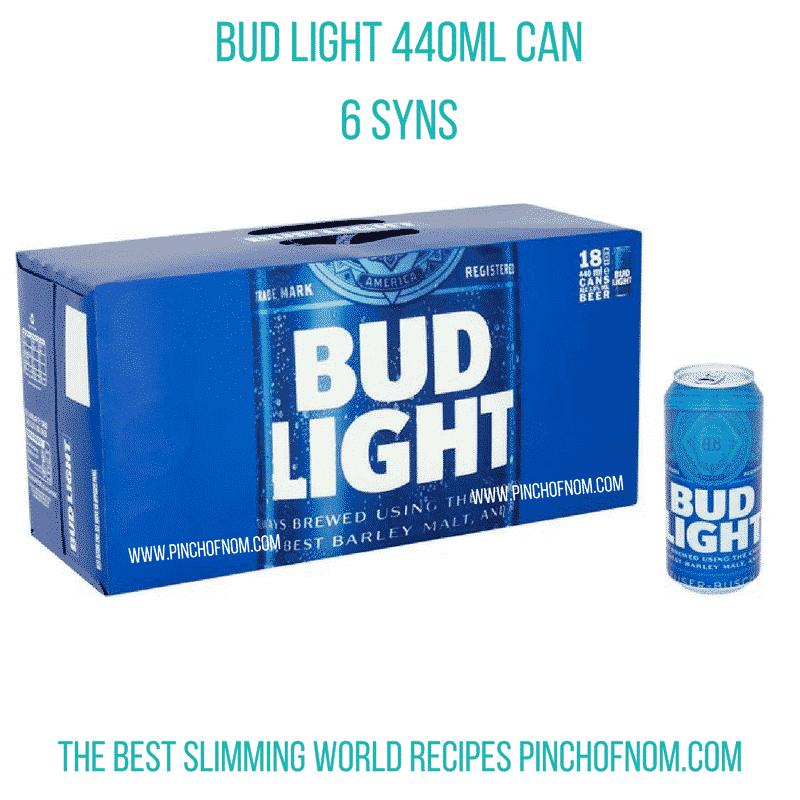 bud-light- pinch of nom slimming world essentials