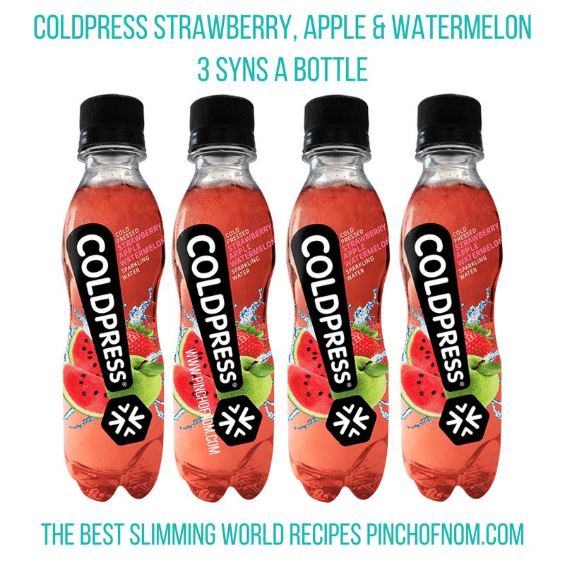 coldpress juice - pinch of nom slimming world essentials
