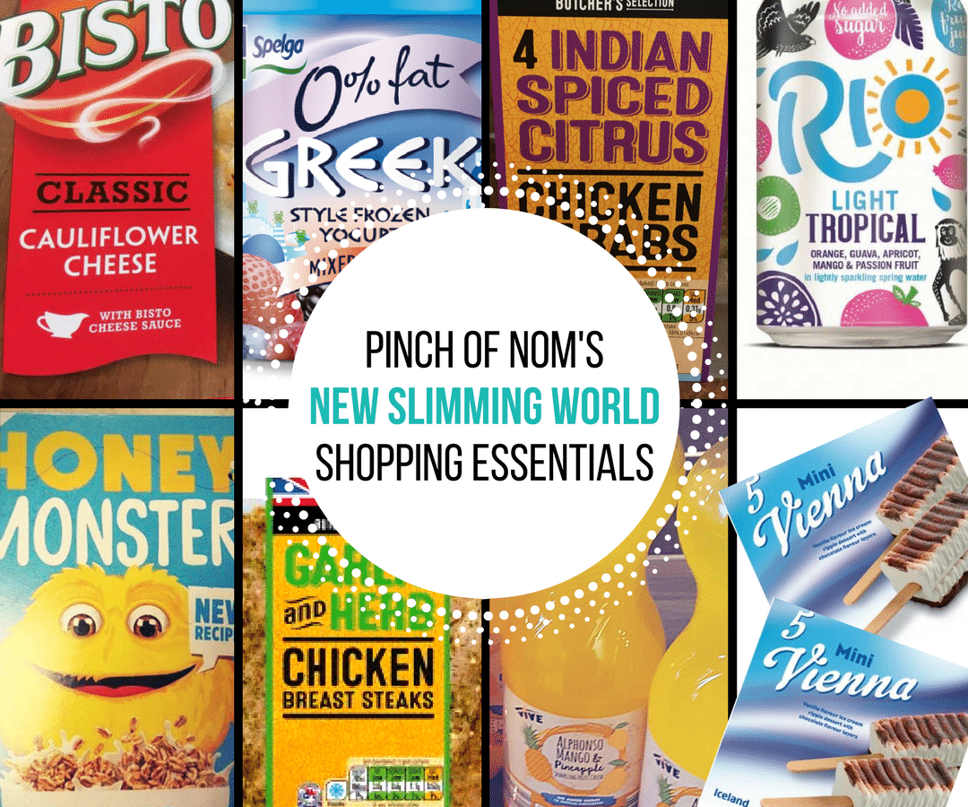 New Slimming World Shopping Essentials - pinchofnom.com - April