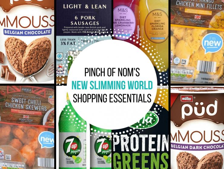 New Slimming World Shopping Essentials - pinchofnom.com - April