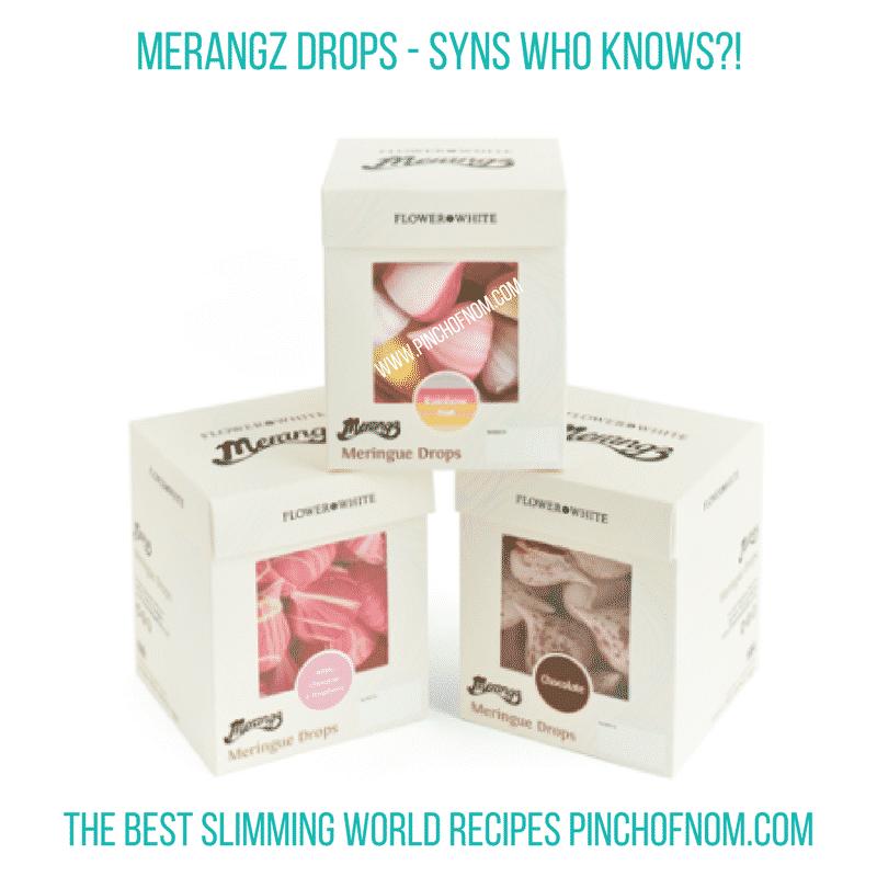 merangz - pinch of nom slimming world essentials