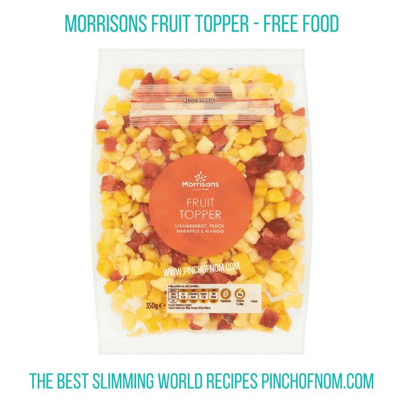 morissons fruit - pinch of nom slimming world essentials