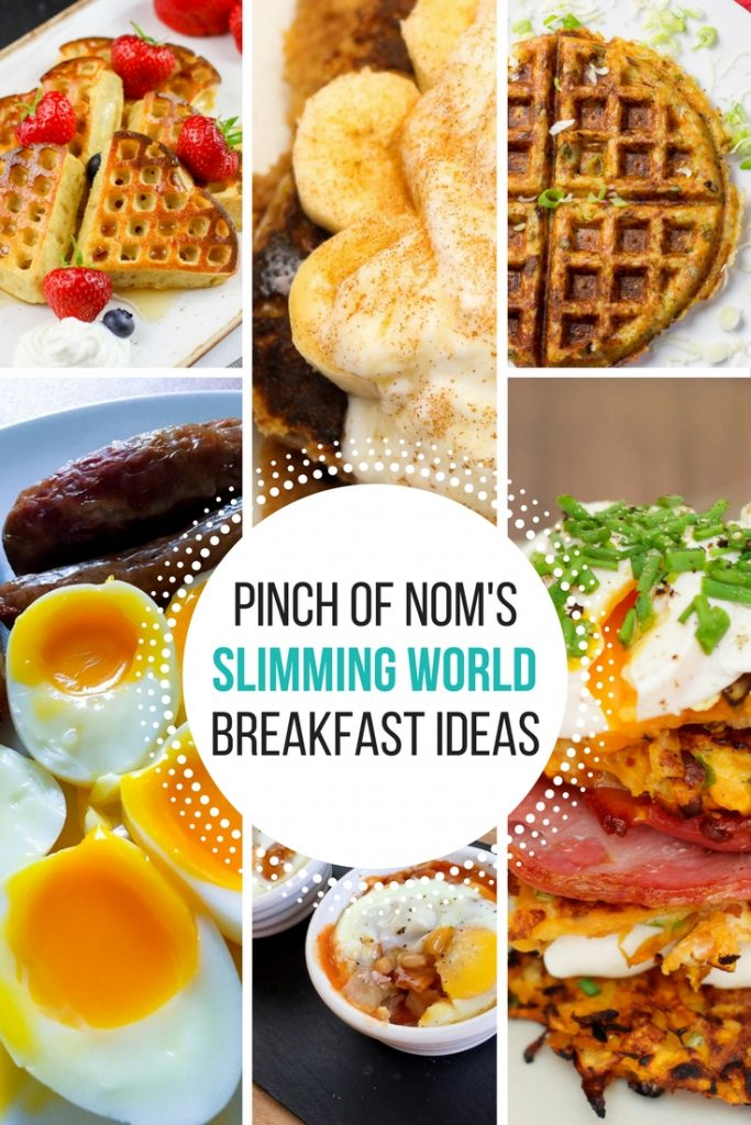 pinch of nom slimming world breakfast ideas