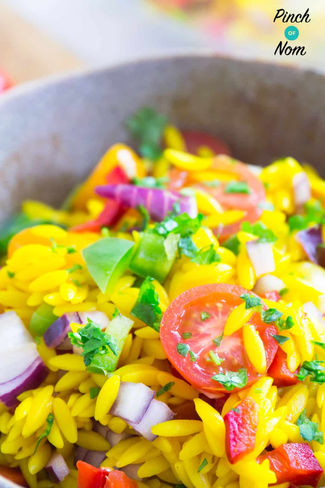 Syn Free Orzo Primavera Pasta Salad | Slimming World