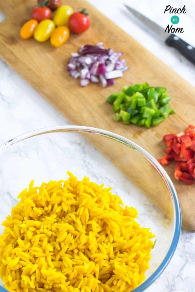 Orzo Primavera Pasta Salad | Slimming & Weight Watchers Friendly