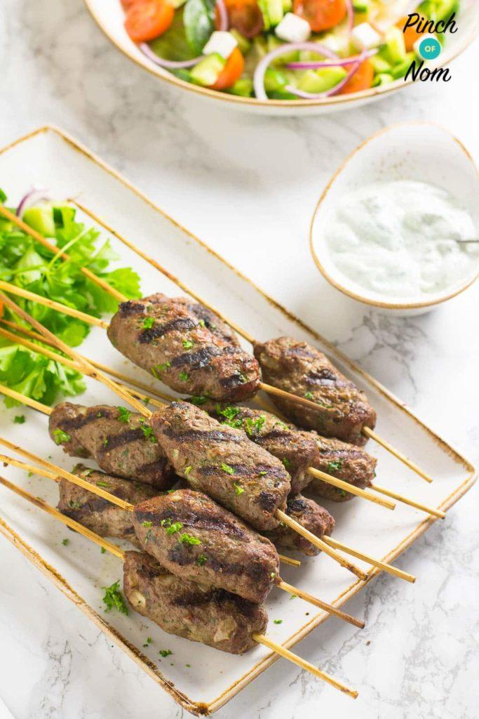 Beef Kofta Kebabs | Slimming World & Weight Watchers Friendly
