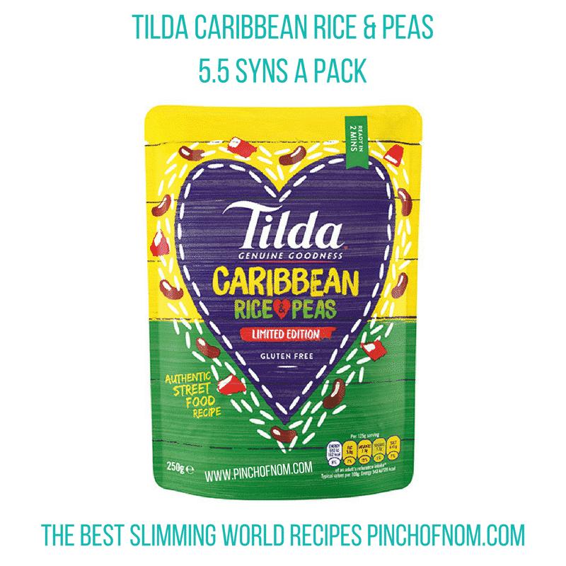 tilda rice n peas - pinch of nom slimming world essentials