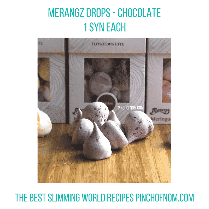 merangz drops - pinch of nom slimming world shopping essentials may