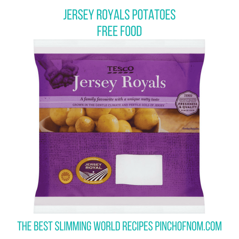 tesco jersey royals - pinch of nom slimming world shopping essentials may