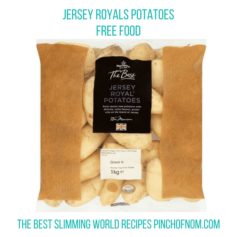 morrisons jersey royals - pinch of nom slimming world shopping essentials may