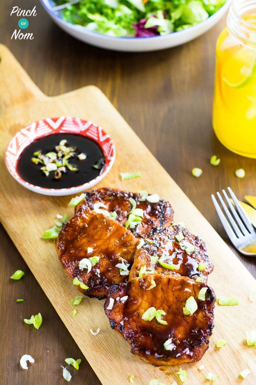 Sticky Chinese BBQ Pork | Slimming & Weight Watchers Friendly