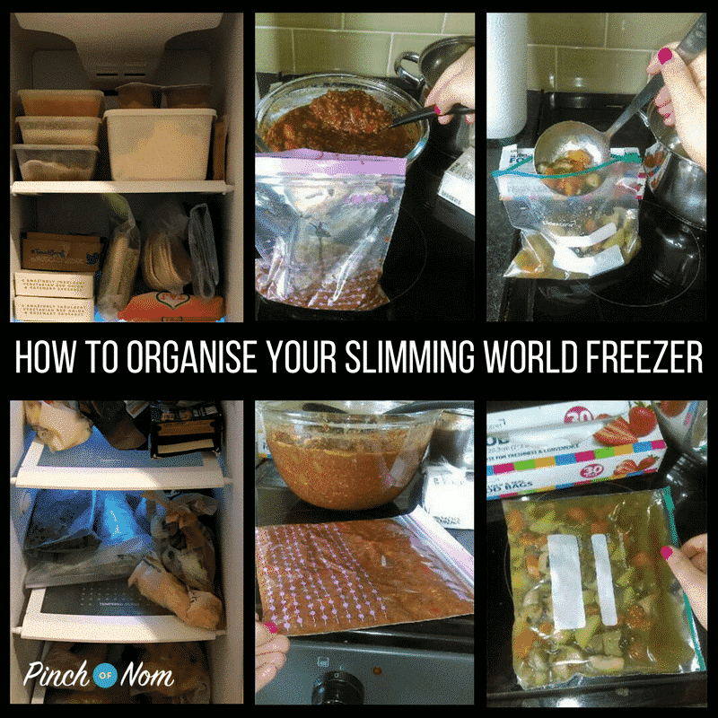 How To Organise Your Slimming World Freezer