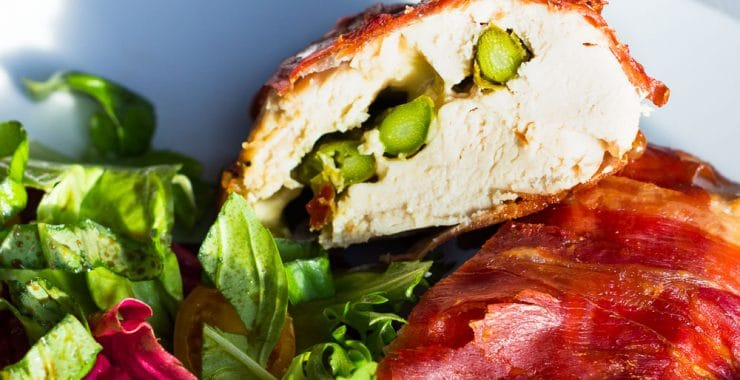 Low Syn Mozzarella and Asparagus Stuffed Chicken | Slimming World-2